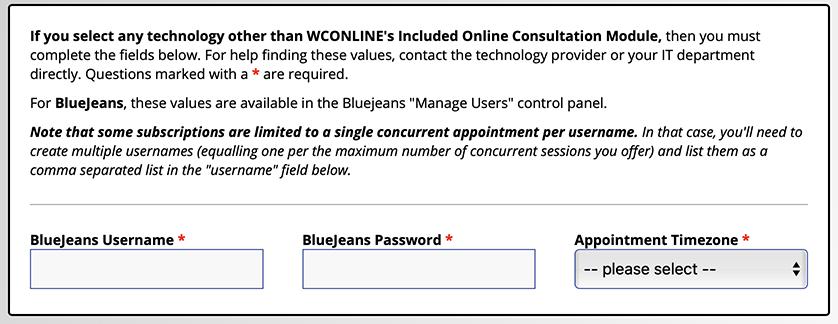 BlueJeans Integration Options